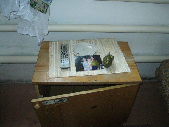 21-летний житель Сумщины хранил на память гранату «Ф-1» (ФОТО) (фото) - фото 1