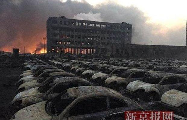 Из-за мощнейшего взрыва в Китае погибло более 40 человек (+видео) (фото) - фото 1