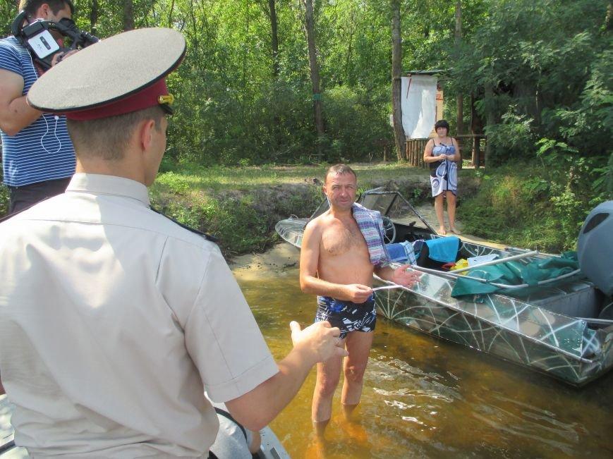 Кременчугские спасатели учили отдыхающих спасать утопающего и справляться с судорогами (ФОТО), фото-8