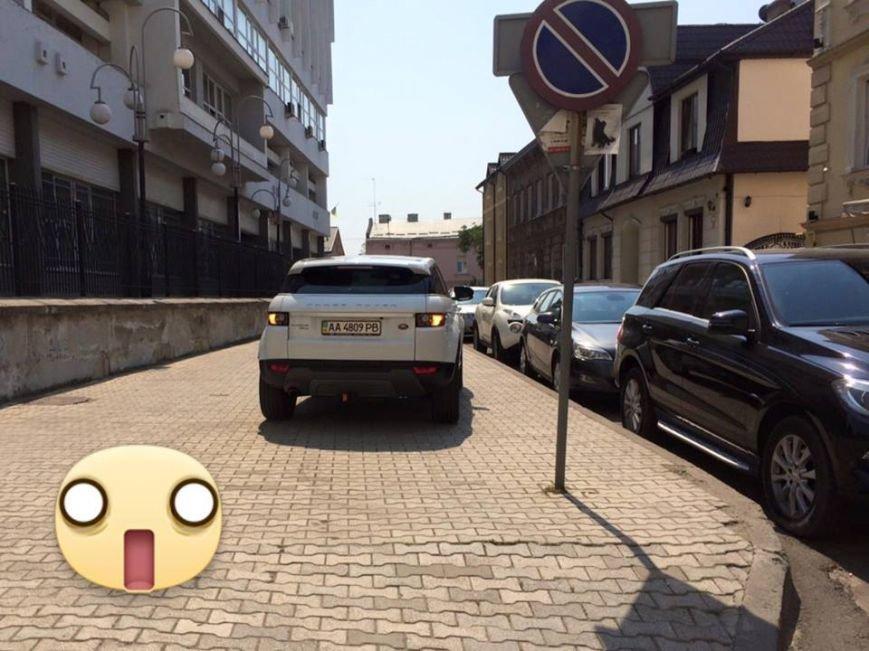 Львів'янка впіймали Ольгу Фреймут на неправильному паркуванні (ФОТО) (фото) - фото 2
