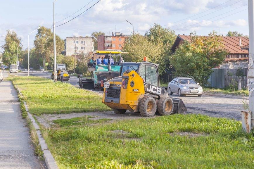 Полевские улицы начали ремонтировать. Фотофакт, фото-5