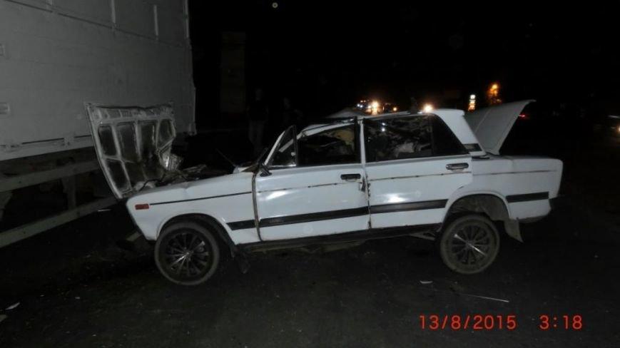 В Бердянске «Жигули» протаранили КАМАЗ, - среди пострадавших ребёнок (ФОТО) (фото) - фото 1