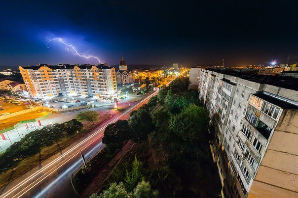 Неймовірна краса франківського неба під час грози (ФОТОРЕПОРТАЖ) (фото) - фото 6