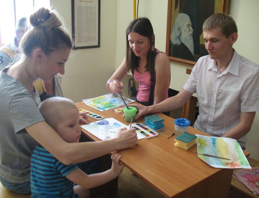 У Кіровограді був проведений майстер-клас з акварелі по мокрому, фото-1