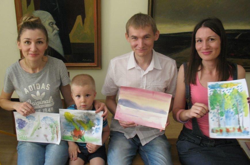 У Кіровограді був проведений майстер-клас з акварелі по мокрому, фото-2