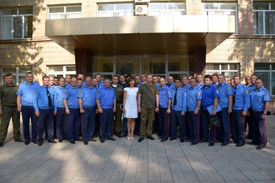 Начальники Красноармейского и Димитровского ГО милиции прошли тактическую подготовку в Мариуполе (фото) - фото 4