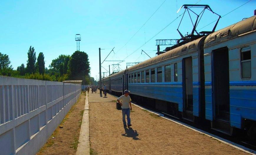 В Никополе посадка на электрички проходит за багажным отделением (фото), фото-5