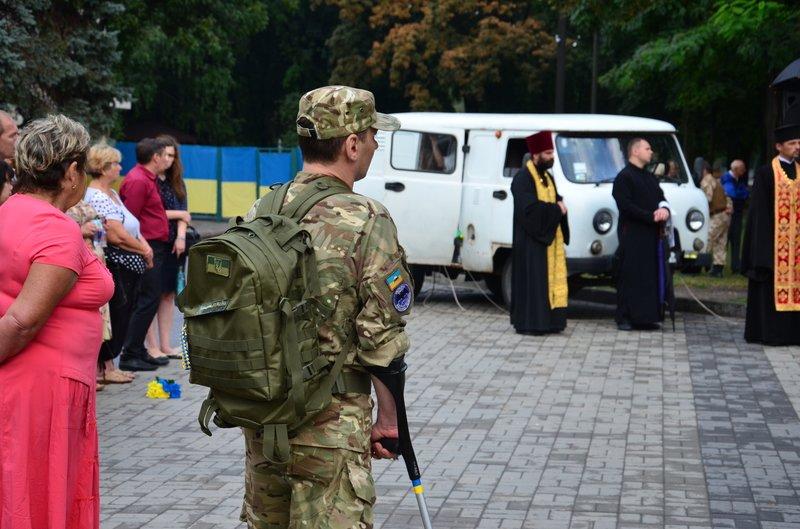 На Днепропетровщине почтили память погибших десантников 25-й бригады (фото) - фото 3