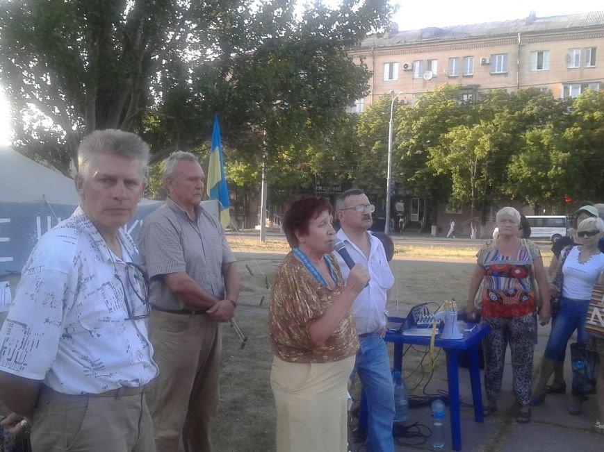 Лагерь Патриотов продолжит стоять в Мариуполе после Дня Независимости (ФОТО), фото-6
