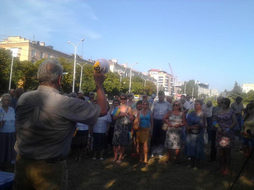 Лагерь Патриотов продолжит стоять в Мариуполе после Дня Независимости (ФОТО), фото-3