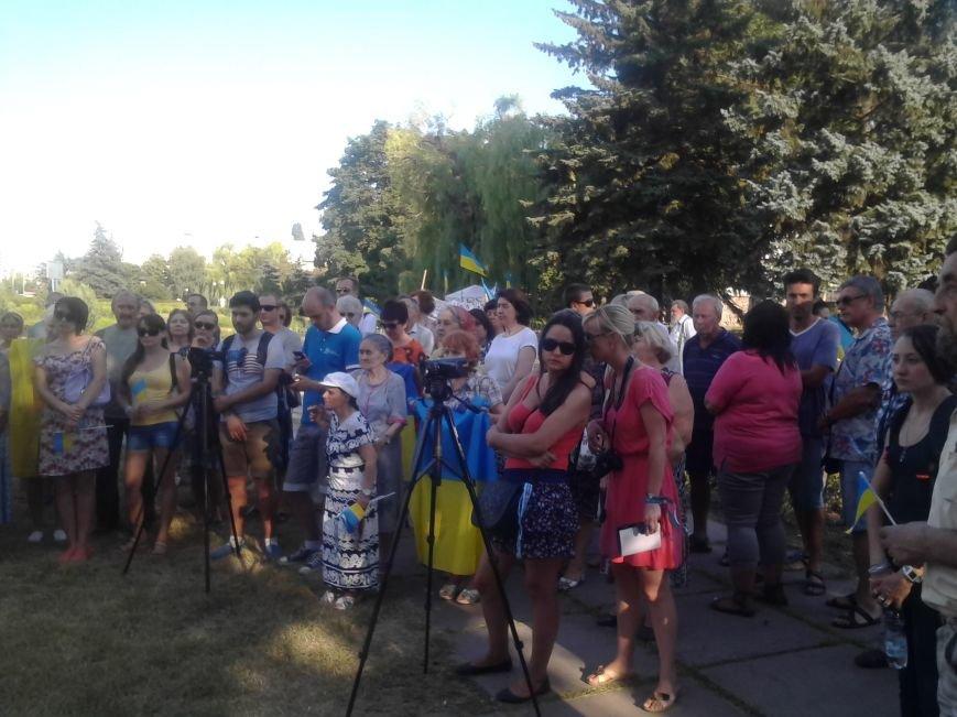 Лагерь Патриотов продолжит стоять в Мариуполе после Дня Независимости (ФОТО), фото-1
