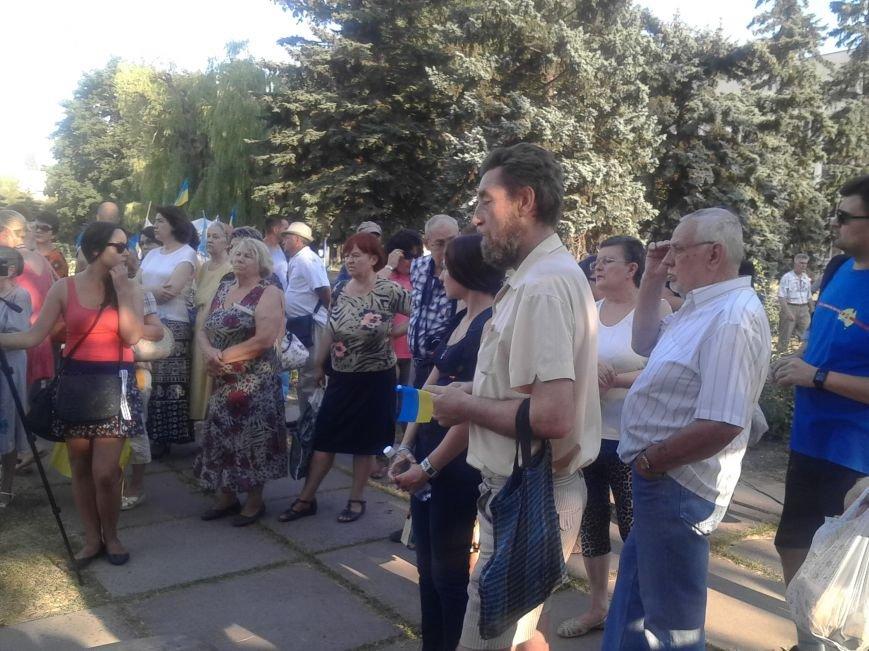 Лагерь Патриотов продолжит стоять в Мариуполе после Дня Независимости (ФОТО), фото-2