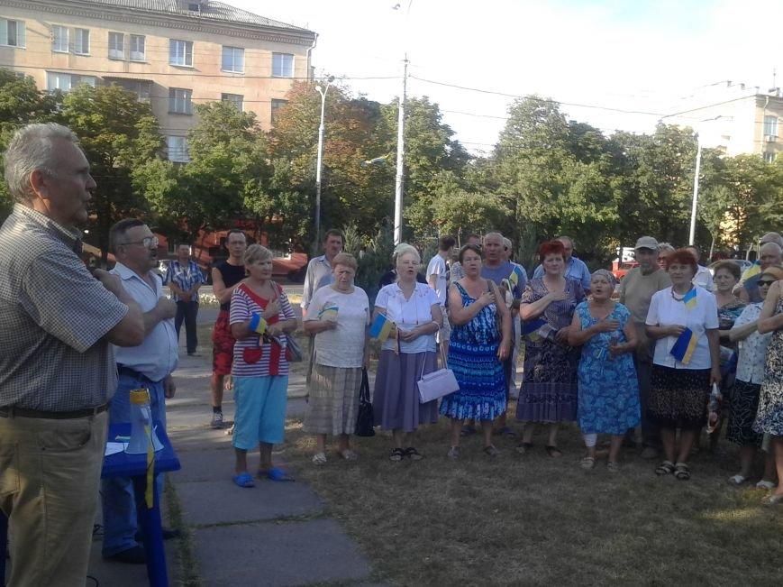 Лагерь Патриотов продолжит стоять в Мариуполе после Дня Независимости (ФОТО), фото-5