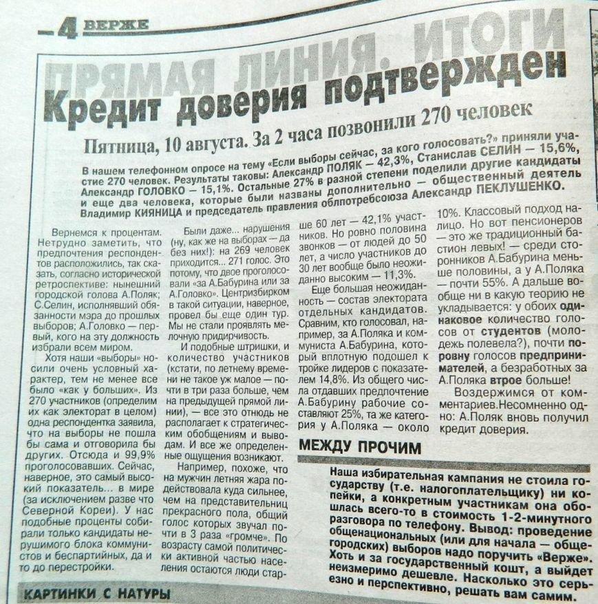 Пресса прошлых лет: в Запорожье проходит «Червона Рута», «Металлург» участвует в еврокубке, а Коммунаровский район хотят переименовать (фото) - фото 2