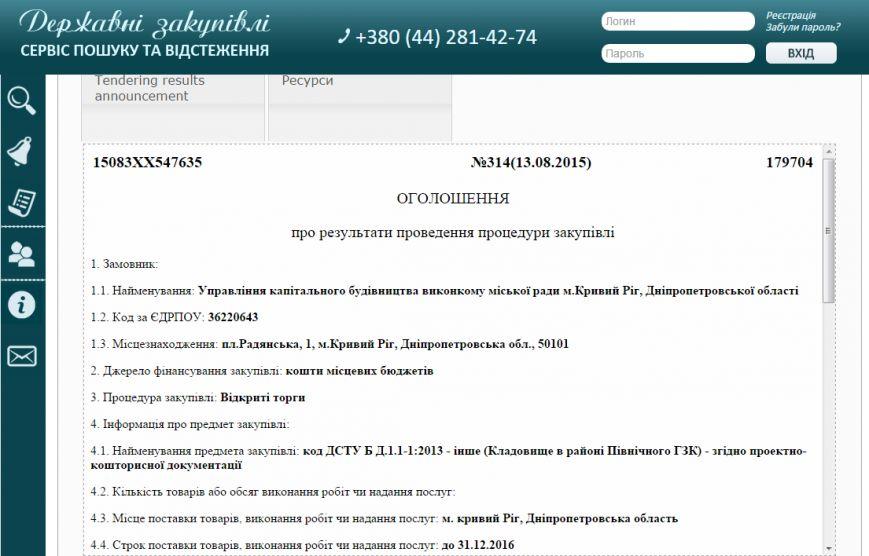 Фирма депутата Криворожского горсовета получила из бюджета города  27 миллионов на кладбище (фото) - фото 1