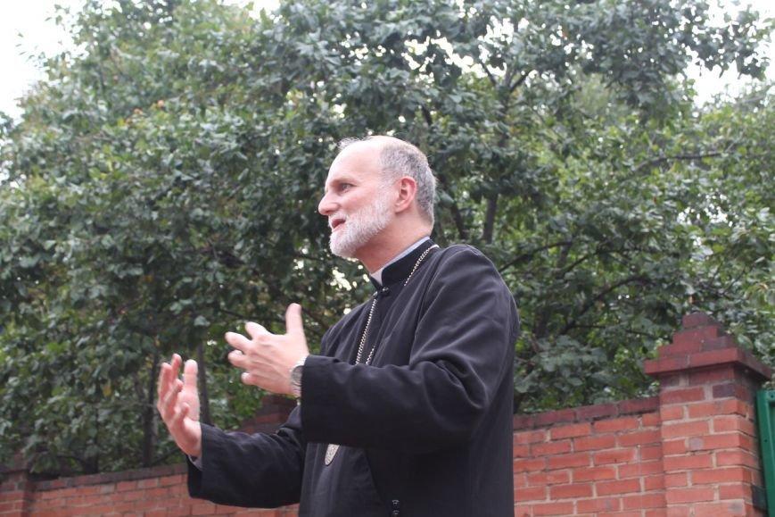 Славянск посетил владыка Украинской греко-католической церкви Борис Гудзяк (фото) - фото 1