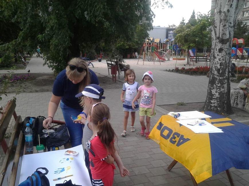 Цивильный корпус «Азов» рисовал с детьми в Мариуполе (ФОТО), фото-4