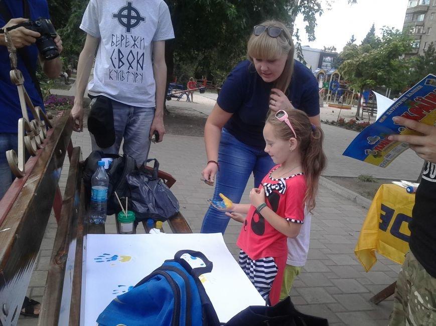 Цивильный корпус «Азов» рисовал с детьми в Мариуполе (ФОТО), фото-3