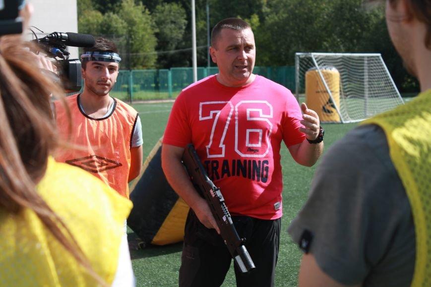 В Троицке в новой Москве прошёл первый открытый турнир по лазерному пейнтболу (ФОТО), фото-3