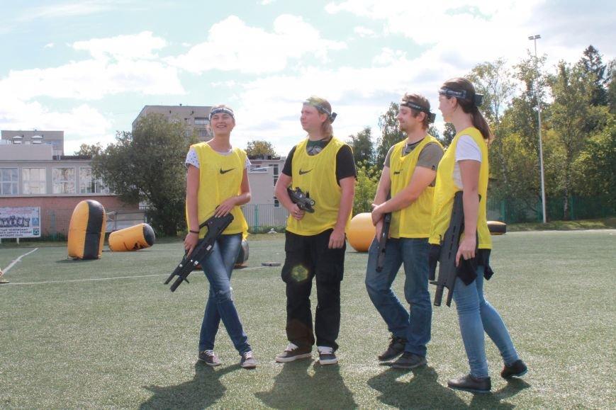 В Троицке в новой Москве прошёл первый открытый турнир по лазерному пейнтболу (ФОТО), фото-6