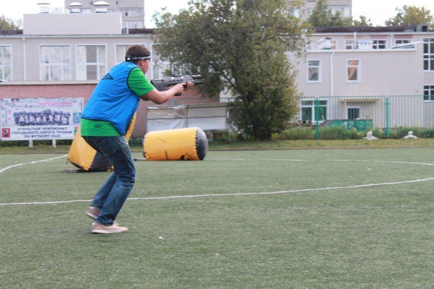 В Троицке в новой Москве прошёл первый открытый турнир по лазерному пейнтболу (ФОТО), фото-7