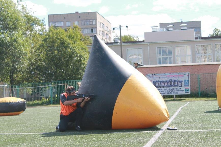 В Троицке в новой Москве прошёл первый открытый турнир по лазерному пейнтболу (ФОТО), фото-2