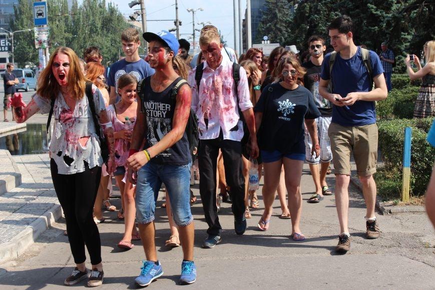 По центру Запорожья гуляли зомби (ФОТОРЕПОРТАЖ), фото-5