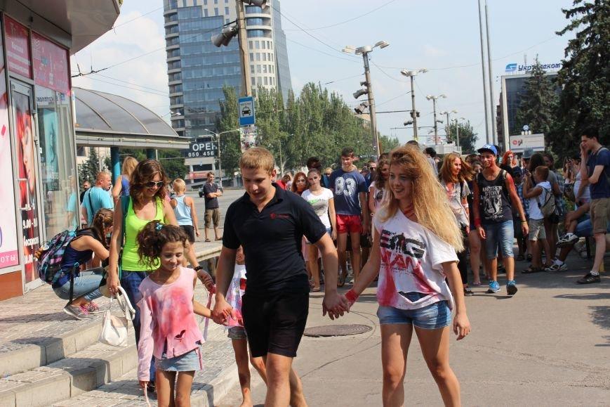 По центру Запорожья гуляли зомби (ФОТОРЕПОРТАЖ), фото-4