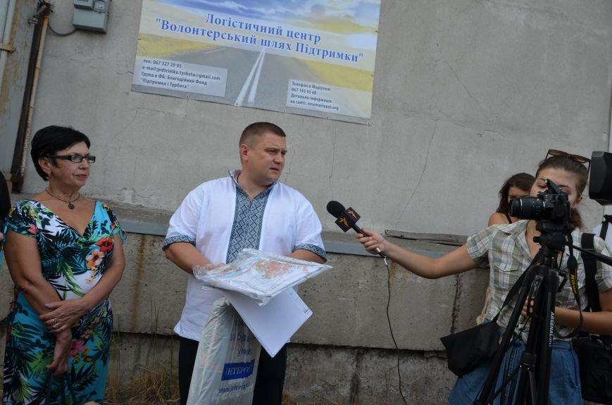 В Мариуполе открыли волонтерский логистический центр (ФОТО+ВИДЕО), фото-24