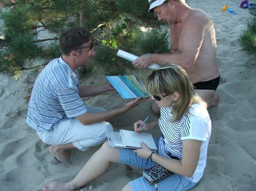 Арт-пикник по-мариупольски! Пляж Песчаного превратился в творческую тусовку (ФОТО) (фото) - фото 3
