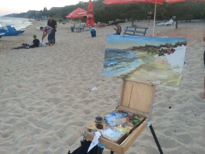 Арт-пикник по-мариупольски! Пляж Песчаного превратился в творческую тусовку (ФОТО) (фото) - фото 1