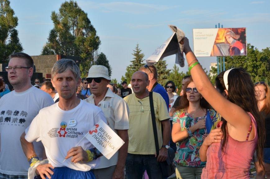 В Мариуполе киевские артисты поддержали жителей на концерте (ФОТО+ВИДЕО), фото-27