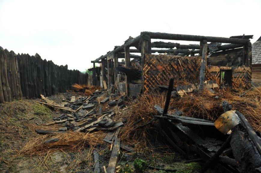 Спасатели опубликовали фото горящей «Запорожской сечи» (ФОТО) (фото) - фото 11