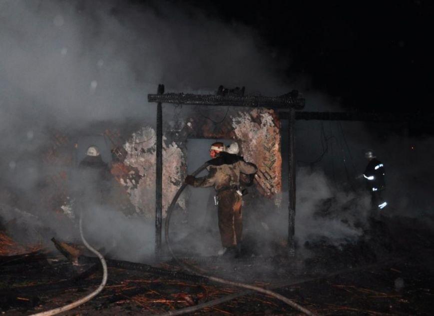 Спасатели опубликовали фото горящей «Запорожской сечи» (ФОТО) (фото) - фото 1