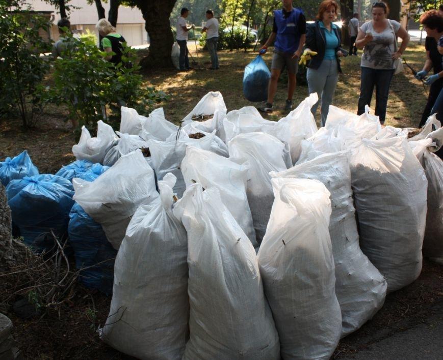 В Днепропетровске около тысячи людей поддержали инициативу Оппозиционного блока и вышли на общегородской субботник (фото) - фото 3