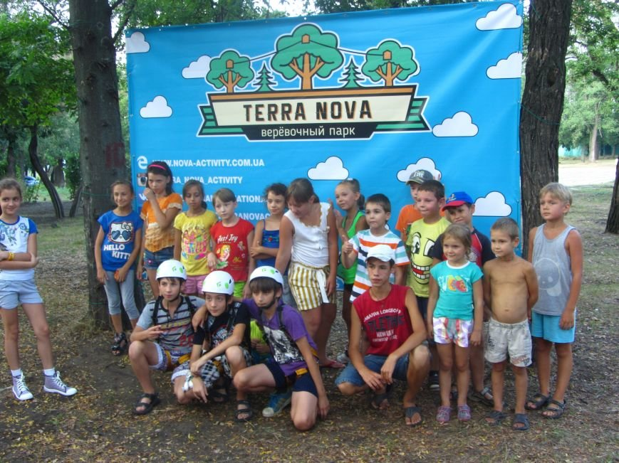 В Днепропетровске открылся новый веревочный парк с велосипедами на деревьях, фото-4