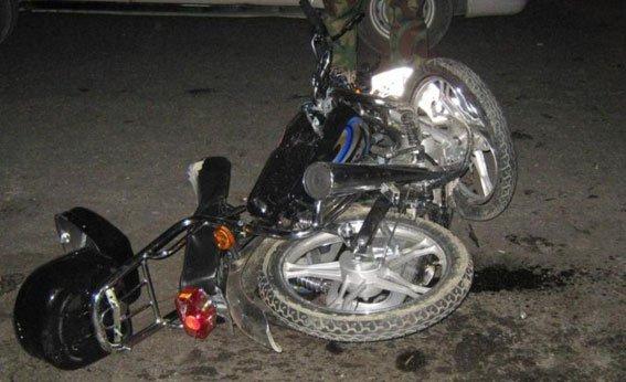 На Сумщине 15-летняя девушка разбилась на мопеде (ФОТО) (фото) - фото 1