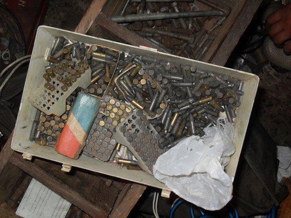 На Полтавщине мужчина хранил дома арсенал незарегистрированного оружия (ФОТО) (фото) - фото 1