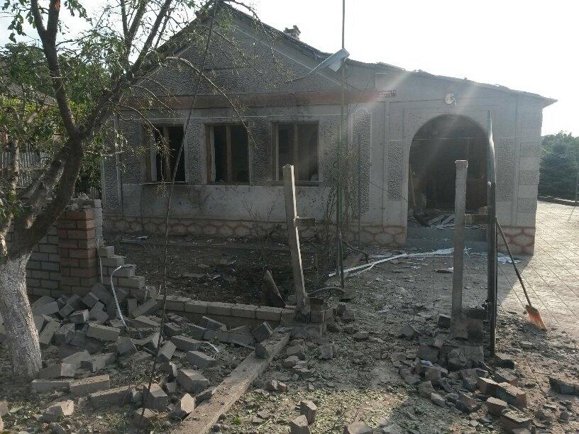 Обстрел Сартаны был произведен из подконтрольных террористам Саханки и Коминтерново, — командование сектора М (ФОТО), фото-3