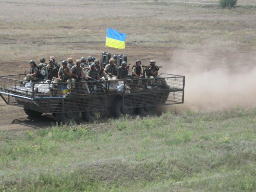 На полигоне Николаевщины батальоны теробороны прошли боевое слаживание (ФОТО) (фото) - фото 1