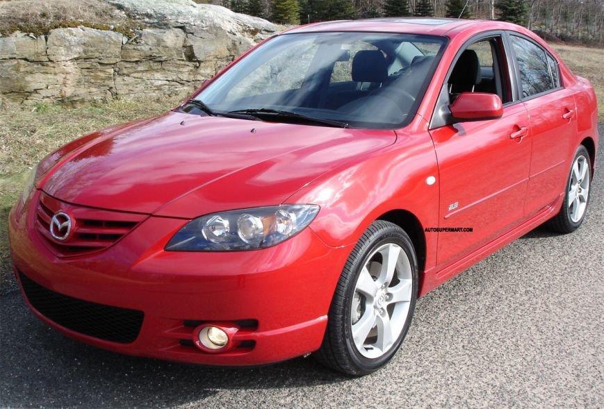 Mazda 3 2005 года