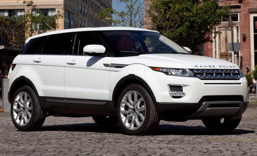 Range Rover Evoque 2011 выпуска
