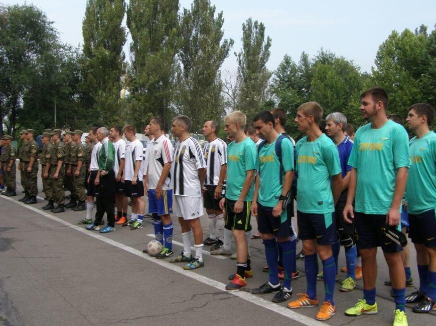 Запорожские журналисты сыграли в футбол с нацгвардейцами и чиновниками (ФОТОРЕПОРТАЖ) (фото) - фото 1