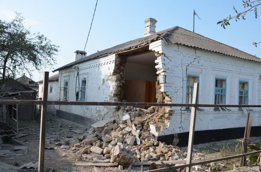 Сартана после обстрела: жители восстанавливают дома и ругают военных (ФОТО+ВИДЕО), фото-44