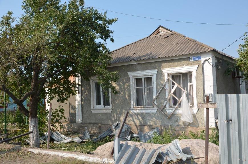 Сартана после обстрела: жители восстанавливают дома и ругают военных (ФОТО+ВИДЕО), фото-29