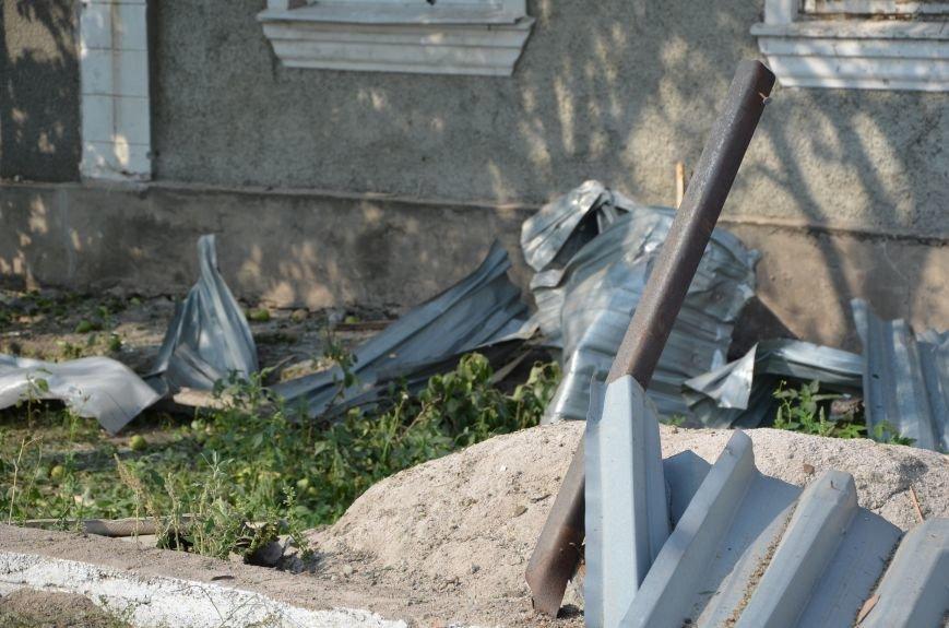 Сартана после обстрела: жители восстанавливают дома и ругают военных (ФОТО+ВИДЕО), фото-27