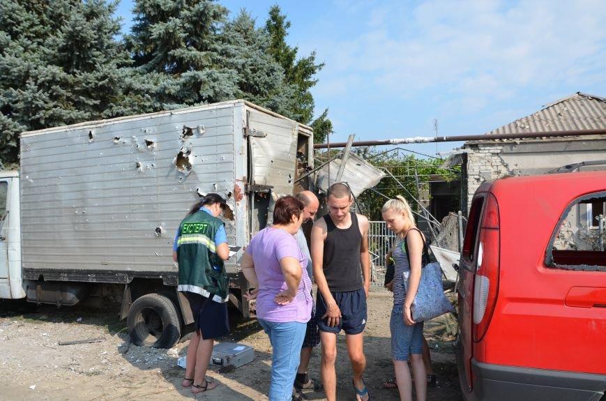 Сартана после обстрела: жители восстанавливают дома и ругают военных (ФОТО+ВИДЕО), фото-23