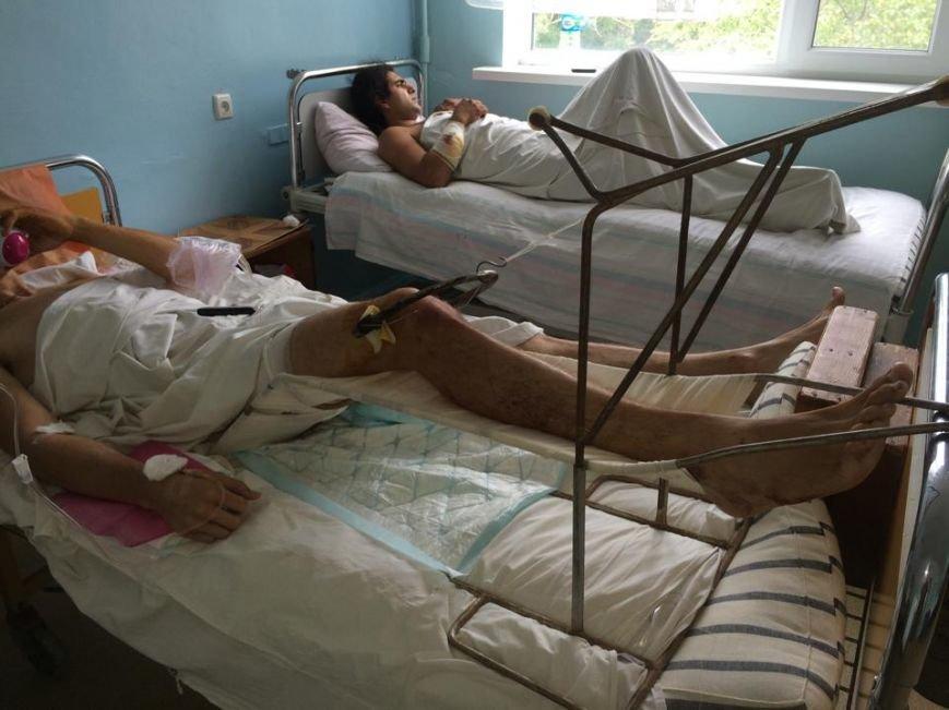 """Раненые в Сартане рассказали, как спасались от смерти, и задавали один вопрос: """"Почему  не пропускали «скорые»? (ФОТО), фото-5"""
