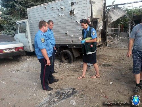 В Сартане милиция усилила патруль, чтобы пресечь факты мародерства (ФОТО), фото-3