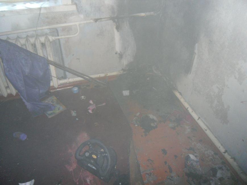 В Днепродзержинске загоревшийся телевизор едва не погубил мать с детьми, фото-3